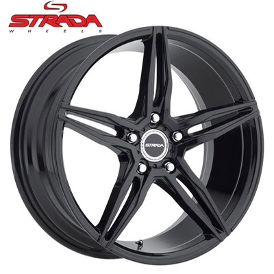 Strada Wheels Malato Gloss Blk