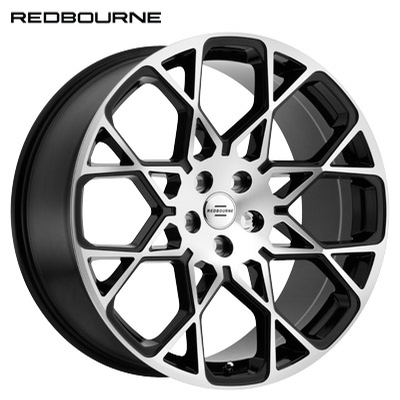 Redbourne Meridian Gloss Black Machined