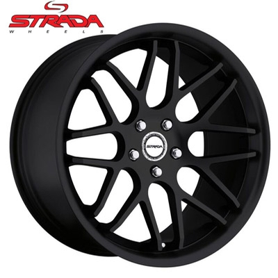 Strada Wheels Moda Gloss Black or Stealth Black