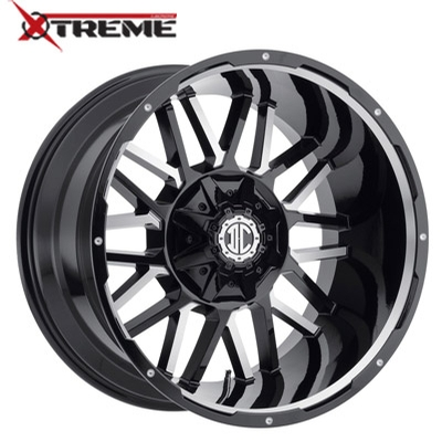 Xtreme NX-12 Gloss Black Mill Machined