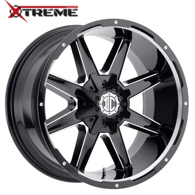 Xtreme NX-17 Gloss Black Mill Machined
