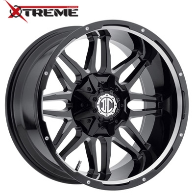 Xtreme NX-09 Gloss Black Mill Machined