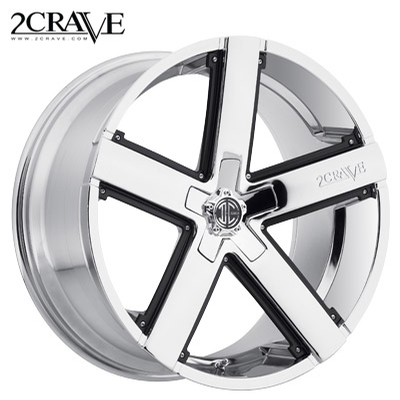 2 Crave No.35 Chrome w/Blk Insert
