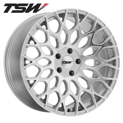 TSW Oslo RF Silver Machined