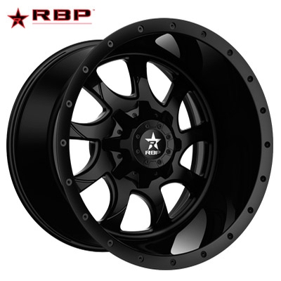 RBP RBP Peacemakerr 1-PC Forged Monoblock Gloss Black