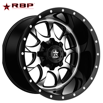 RBP RBP Peacemaker 1-PC Forged Monoblock Machined Black