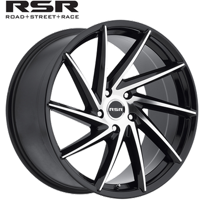 RSR R701 Gloss Blk Machined