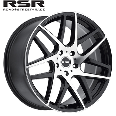RSR R702 Gloss Blk Machined