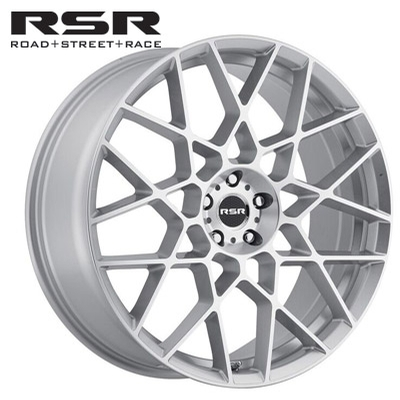 RSR R704 Silver Machined
