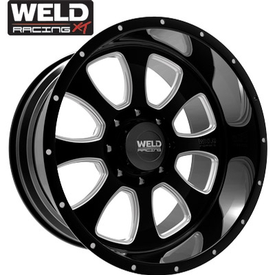 Weld XT Renegade 8 Gloss Black Milled