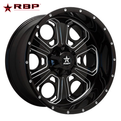RBP RBP Revolver-6 1-PC Forged Monoblock Gloss Blk Machined