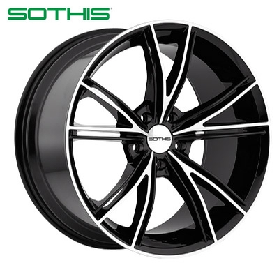 Sothis SC100 Gloss Blk Machined
