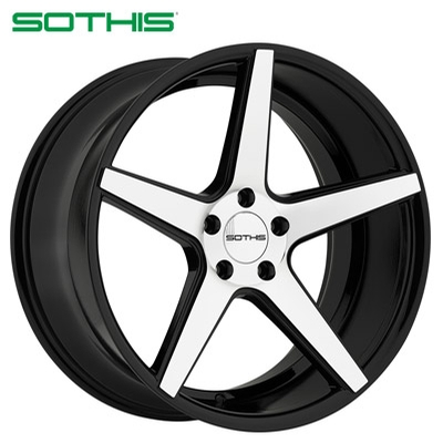 Sothis SC005 Gloss Black Machined