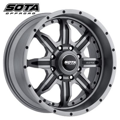 SOTA Offroad S.P.Y.K. 8 Anthrakote Black