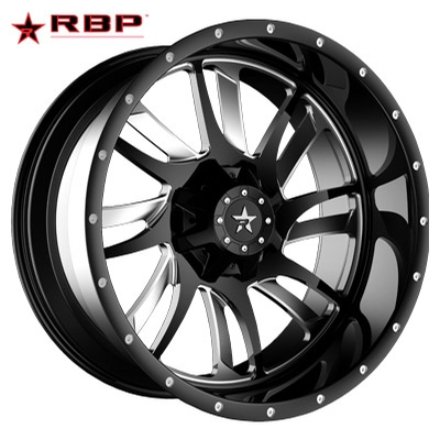 RBP RBP SWAT 1-PC Forged Monoblock Blk Machined