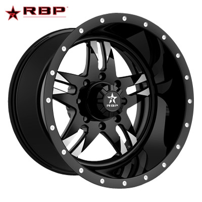 RBP RBP Savage 1-PC Forged Monoblock Gloss Blk Machined