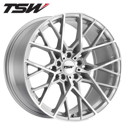 TSW Sebring Silver Machined