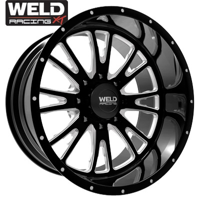 Weld XT Slingblade 8 Gloss Black Milled