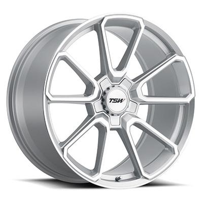 TSW Sonoma Silver Machined