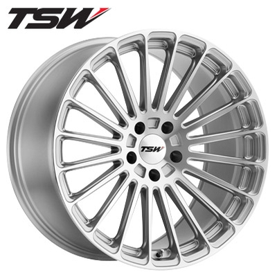 TSW Turbina RF Silver Machined