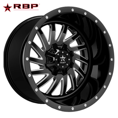 RBP RBP Uzi 1-PC Forged Monoblock Gloss Black Machined