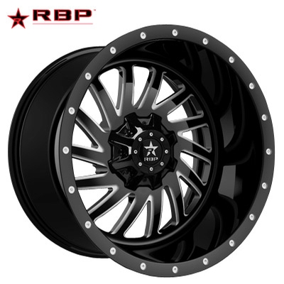 RBP RBP 78R Uzi Gloss Black Machined