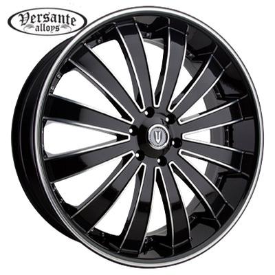 Versante VE225 Black Machined w/Lip Line