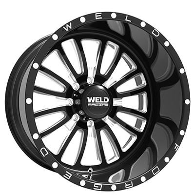 Weld XT Vektor Gloss Black Milled