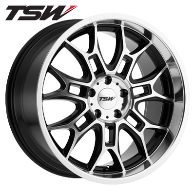 TSW Yas Machined Gloss Black