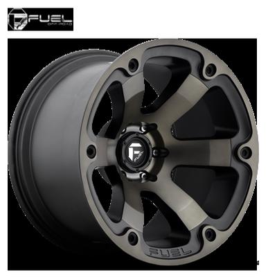 Fuel Off Road D564 Beast Black Machined w/Dark Tint
