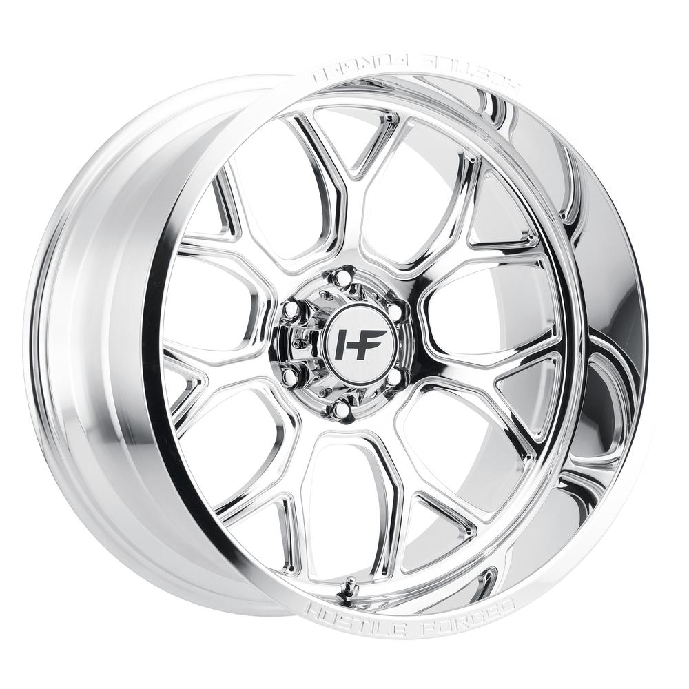 Hostile Forged HF04 Punisher Polished 6-Lug