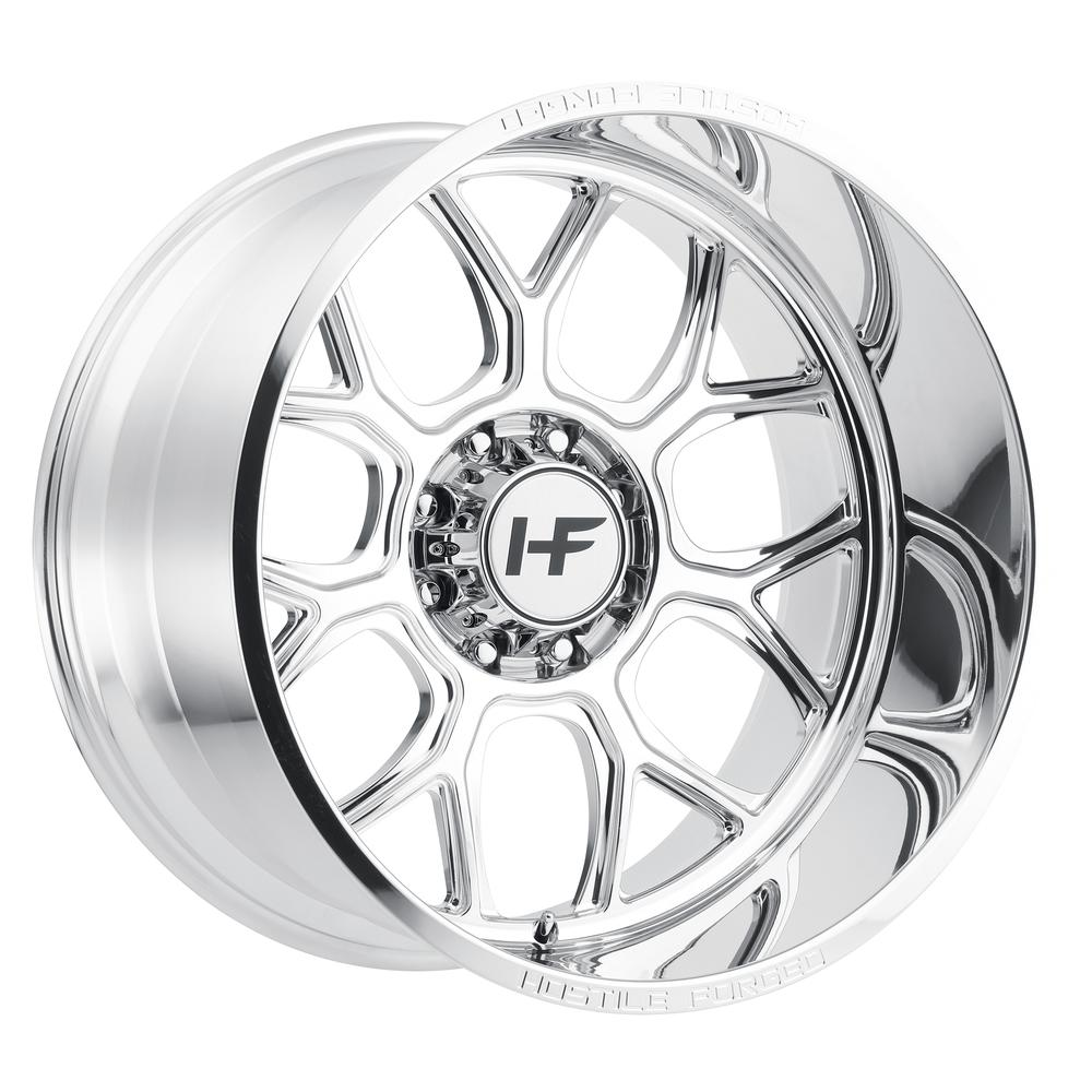 Hostile Forged HF04 Punisher Polished 8-Lug