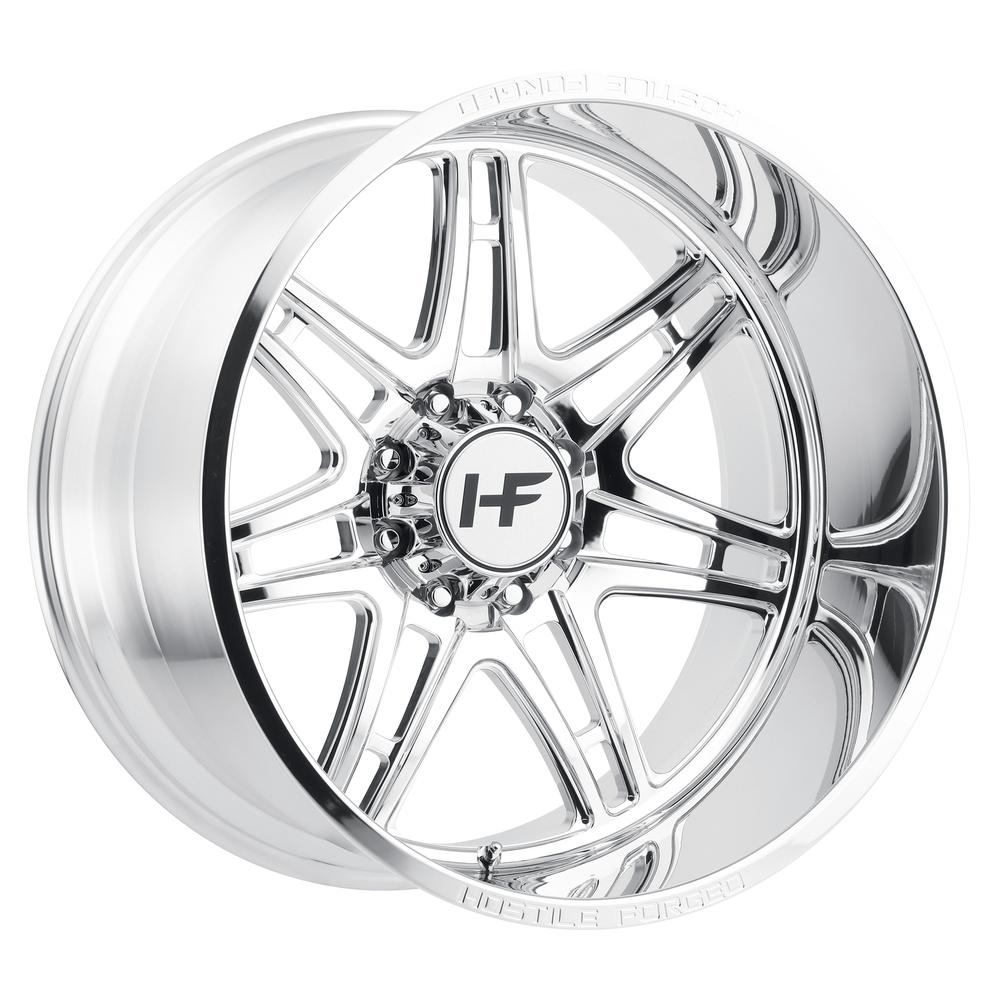Hostile Forged HF05 Atomic Polished 8-Lug
