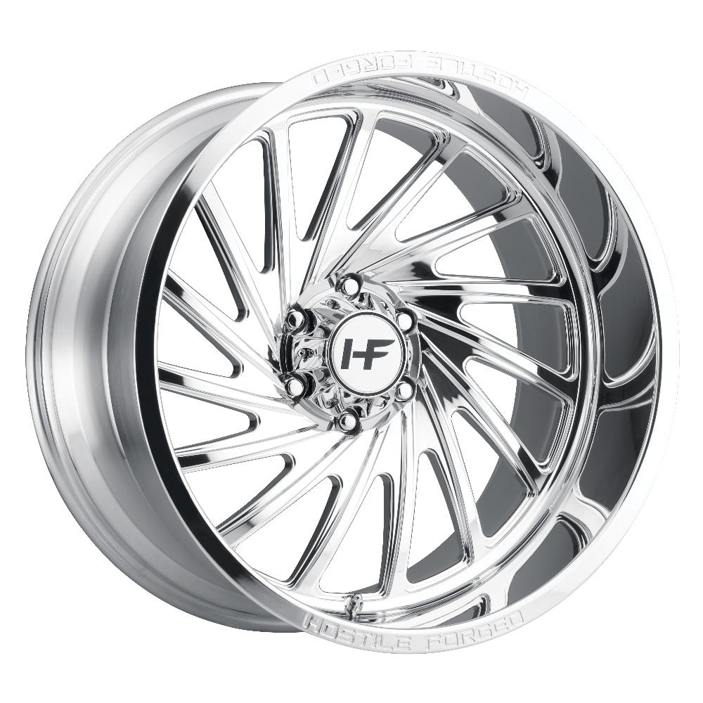 Hostile Forged HF06 Chaos Polished 6-Lug (Left)