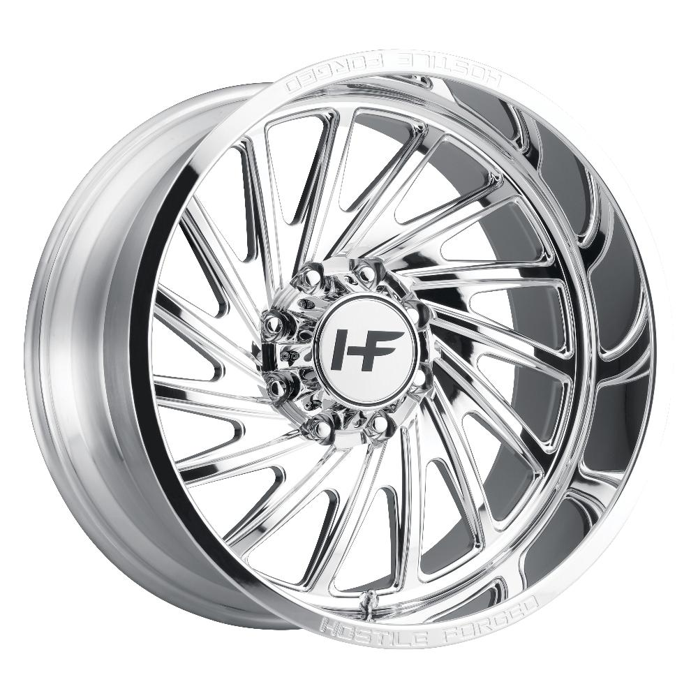 Hostile Forged HF06 Chaos Polished 8-Lug (Right)