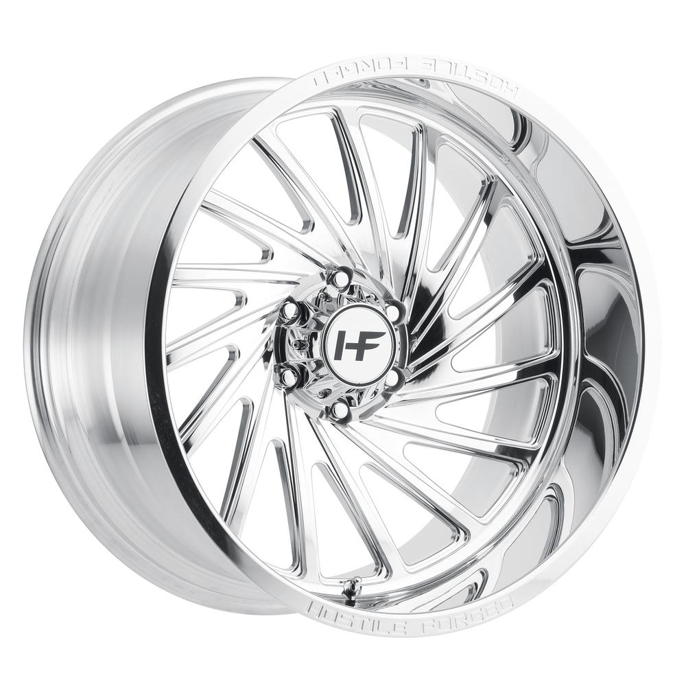 Hostile Forged HF06 Chaos Polished 6-Lug (Right)