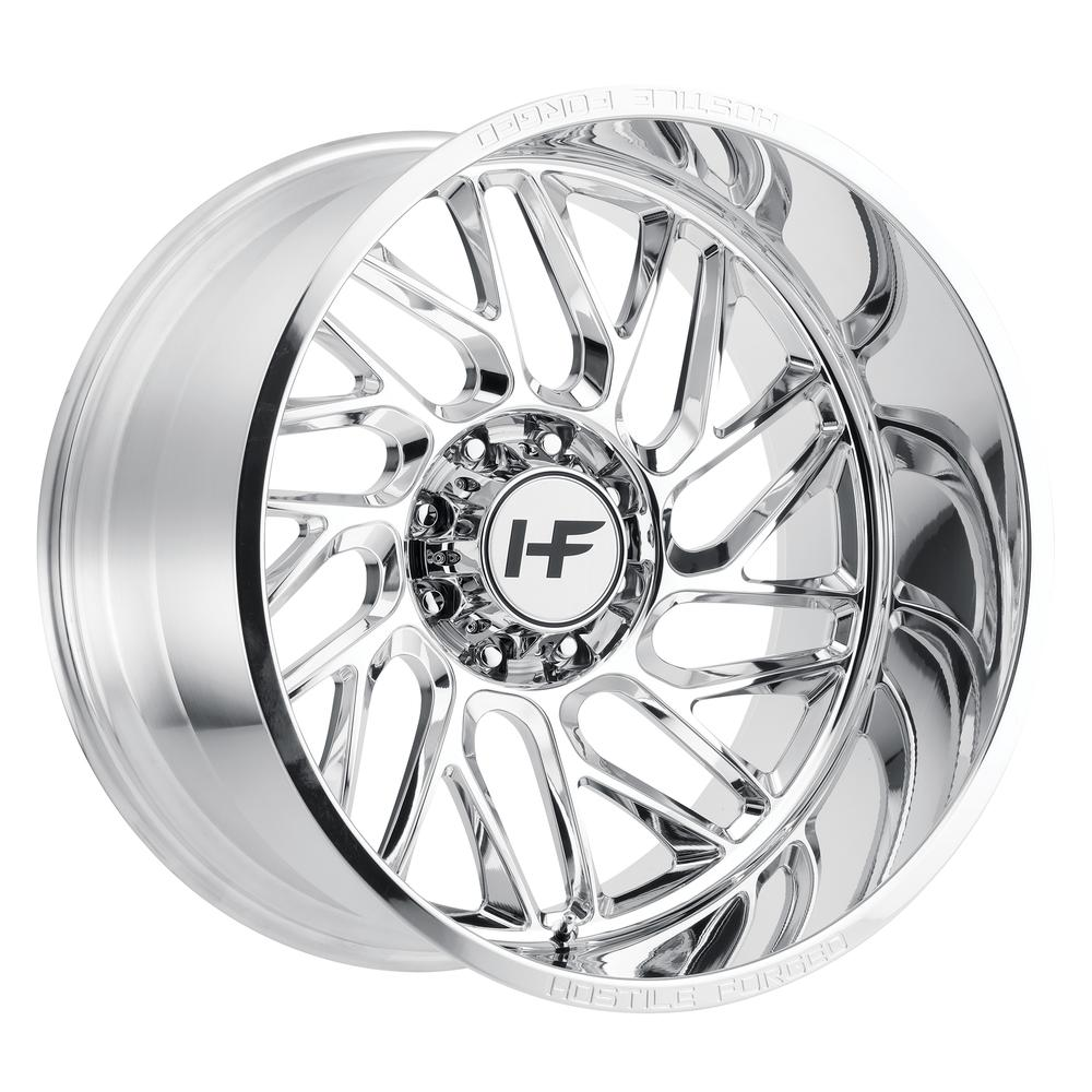 Hostile Forged HF02 SuperBeast Polished 8-Lug