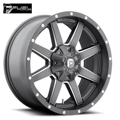 Fuel Off Road D542 Maverick Anthracite w/Milled